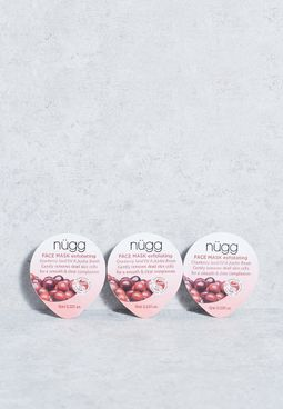 3 Pack Exfoliating Face Mask