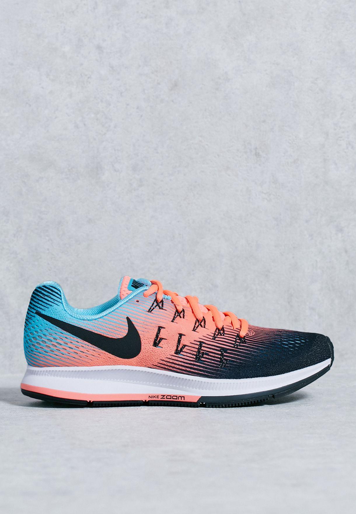457dd5f394de2 Shop Nike multicolor Air Zoom Pegasus 33 831356-005 for Women in ...