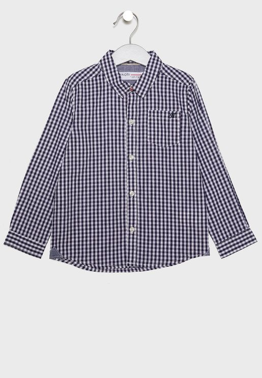 Little Gingham Shirt