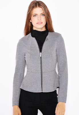 Dorothy Perkins Full Zip Peplum Jacket
