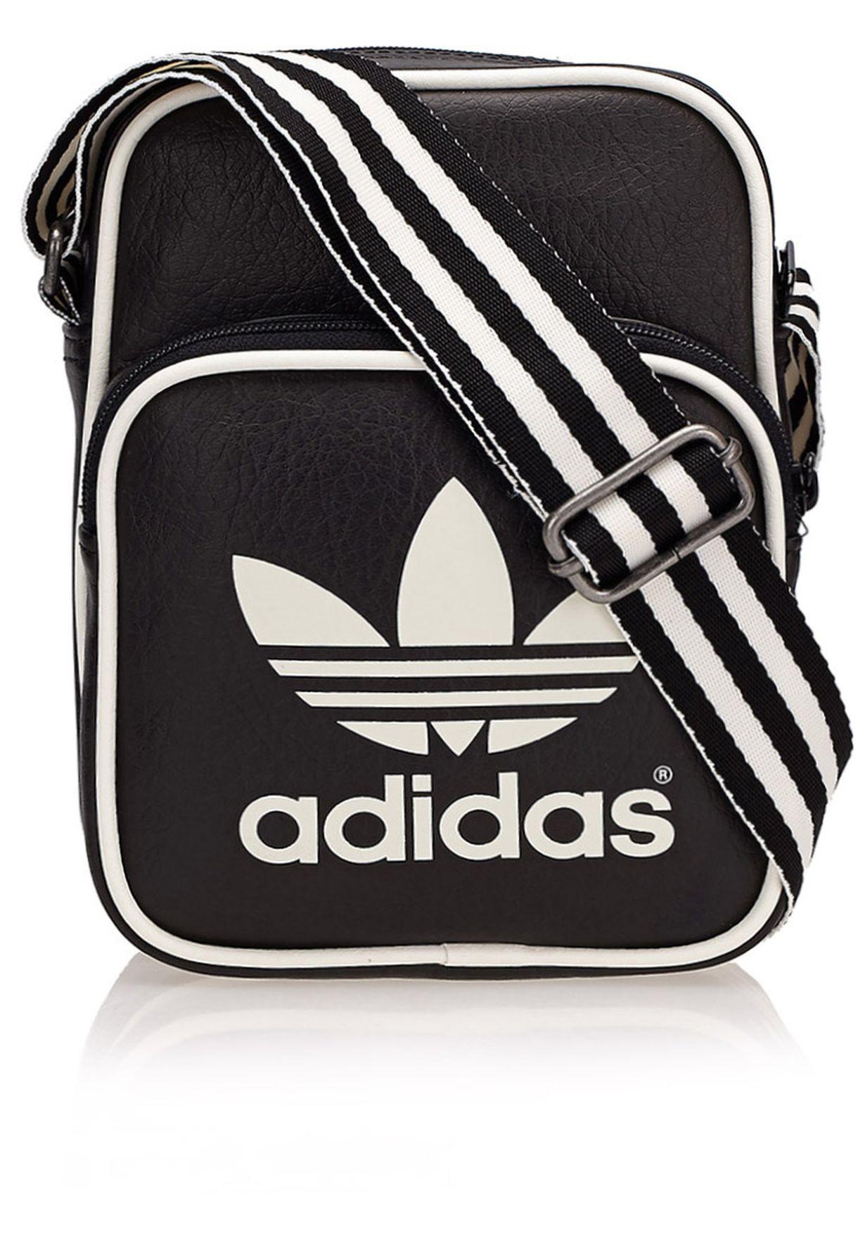 4dc0ec749d Shop adidas Originals black Mini Classic Messenger M30537 for Men in Qatar  - AD478AC33MZA