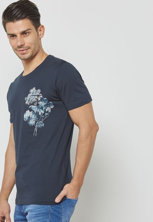 Flower Pocket T-Shirt