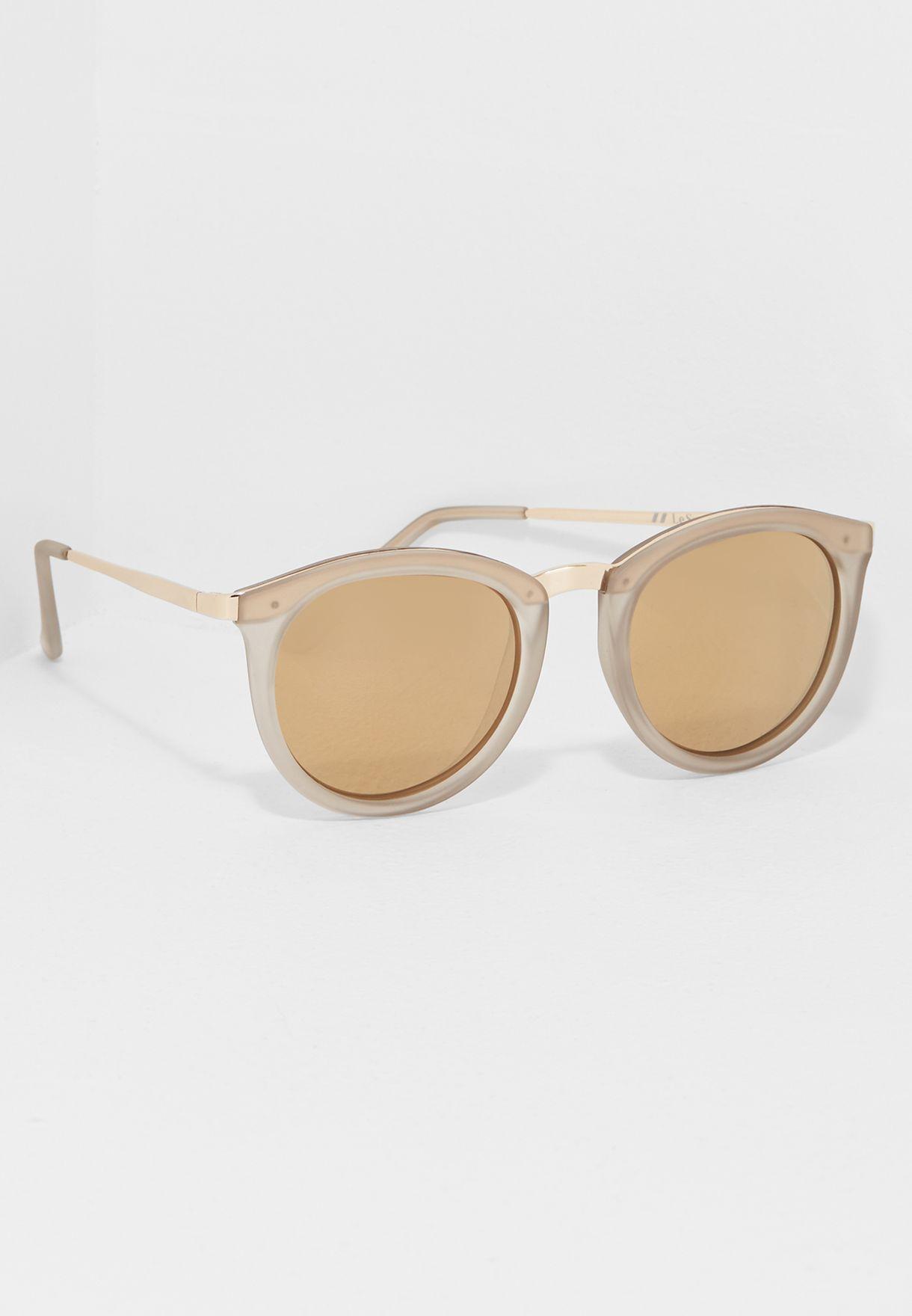 1bbf4c015b Shop Le Specs grey No Smirking Sunglasses LSP1702031 for Women in ...