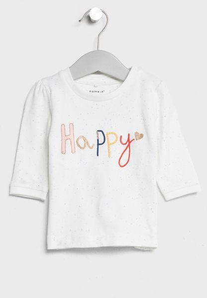 Baby Slogan Top