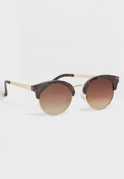 Round Clerk Master Sunglasses