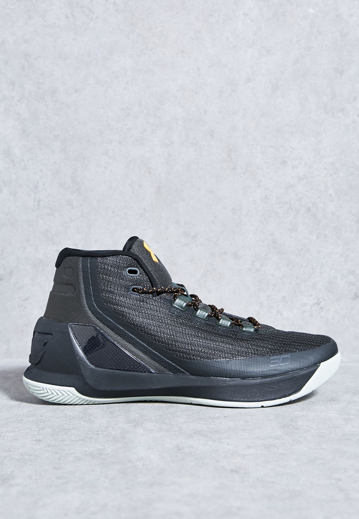 5755b31864a1 Shop Under Armour black Curry 3 1269279-357 for Men in UAE ...