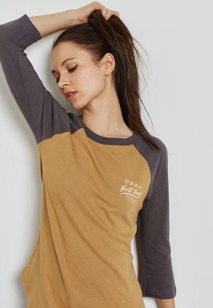 Slogan Back Raglan T-Shirt