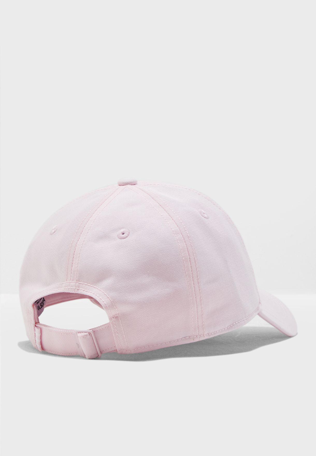 d5e4797a507 Shop adidas Originals pink adicolor Trefoil Cap DJ0882 for Women in ...