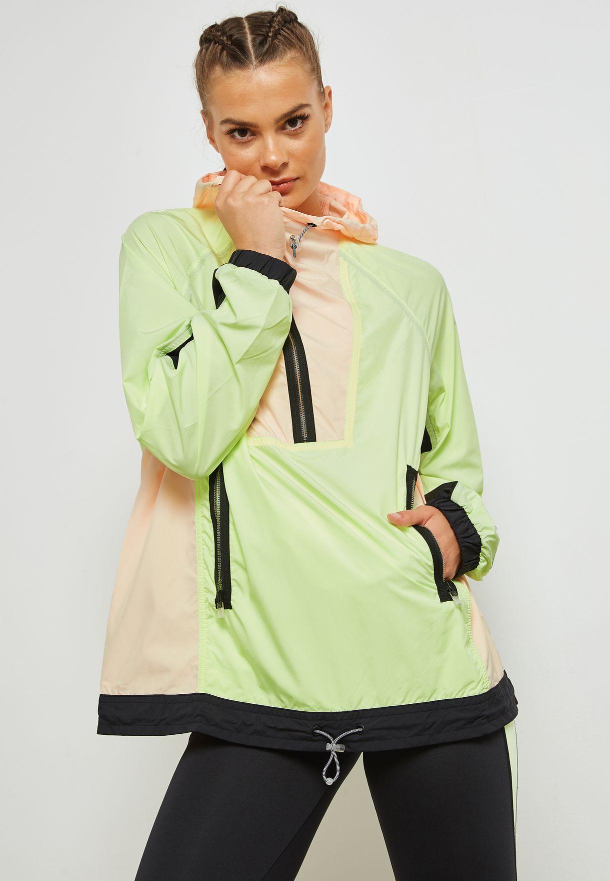 f88c8719c7e4 Shop Nike multicolor Archive Windbreaker Jacket AO4552-701 for Women ...
