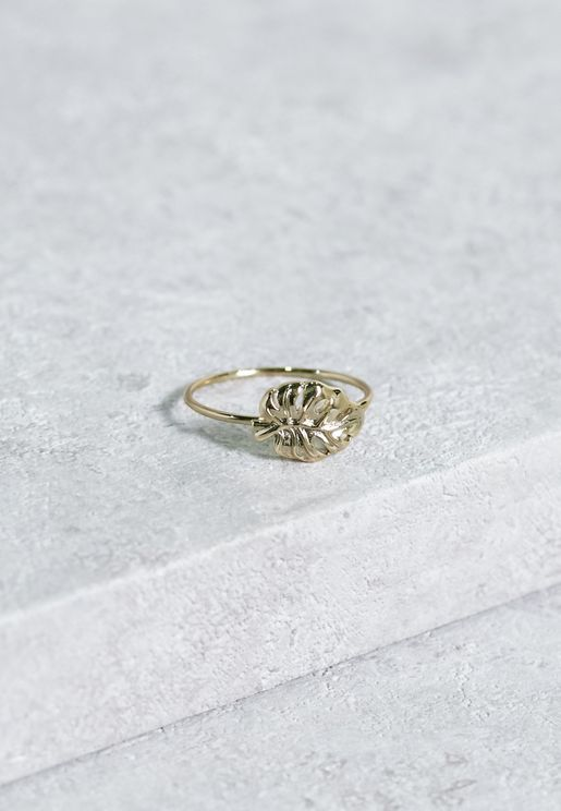 Palm Leaf Ring