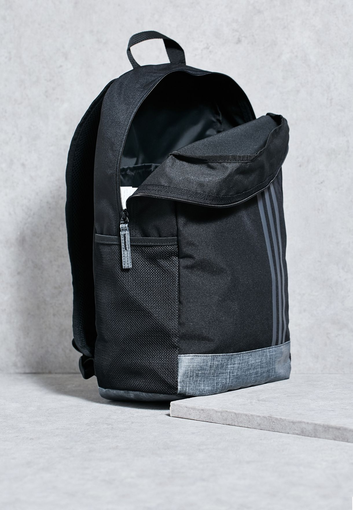 06a293bba8 Shop adidas black Medium Classic 3S Backpack S99847 for Men in UAE ...
