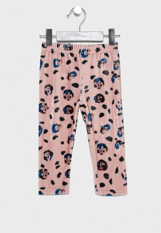 Infant Leopard Print Leggings