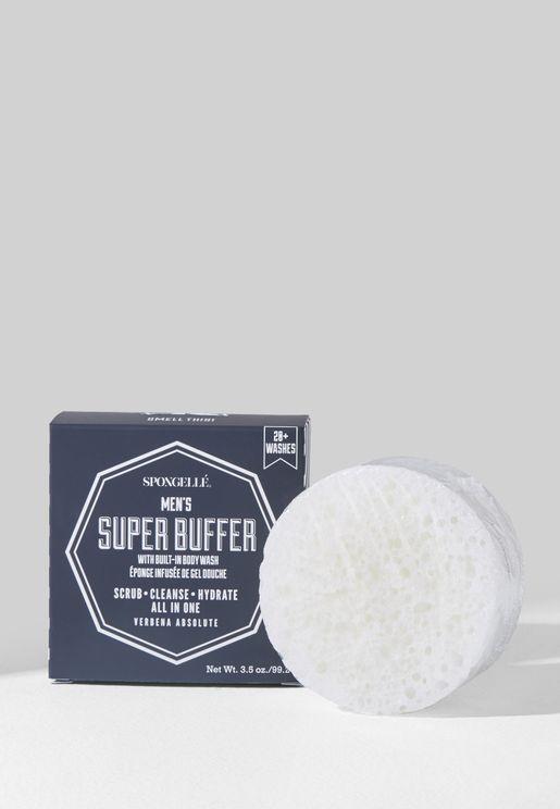 Men's Super Buffer Body Wash Infused Buffer