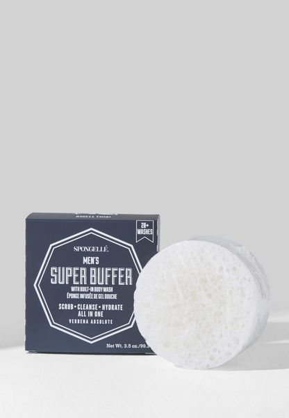 Men's Super Buffer Body Wash Infused Buffer