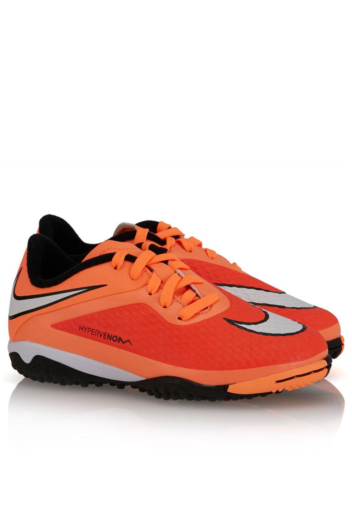 Shop Nike orange Hypervenom Phelon Tf 599847-800 for Kids in Kuwait -  NI727SH33ZNY de9e61b46c242