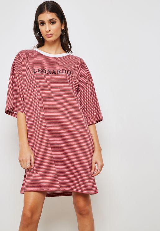 Oversized Leonardo T-Shirt Dress