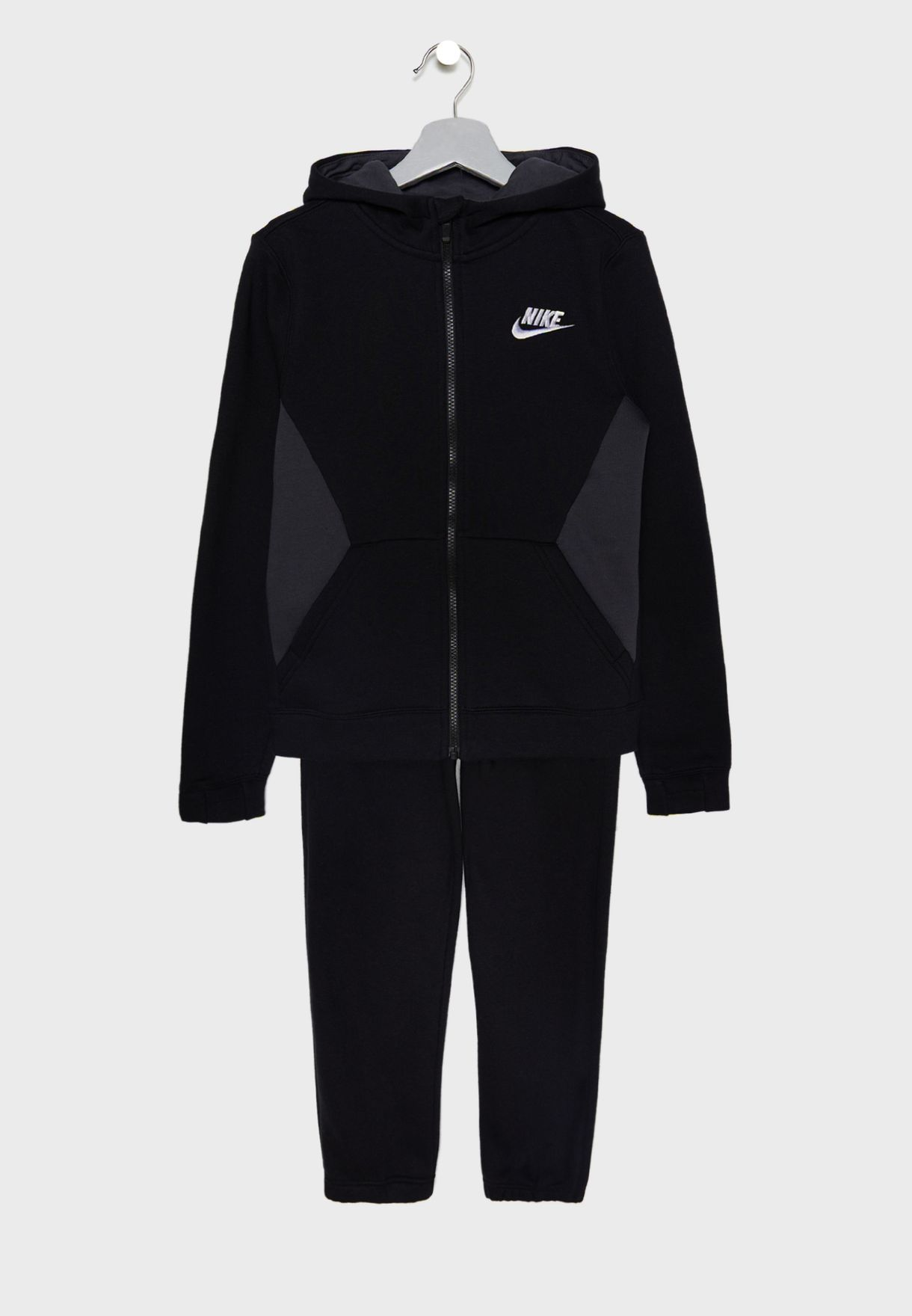 26c2c9f3685f Shop Nike black Youth NSW Core Tracksuit 939626-010 for Kids in ...