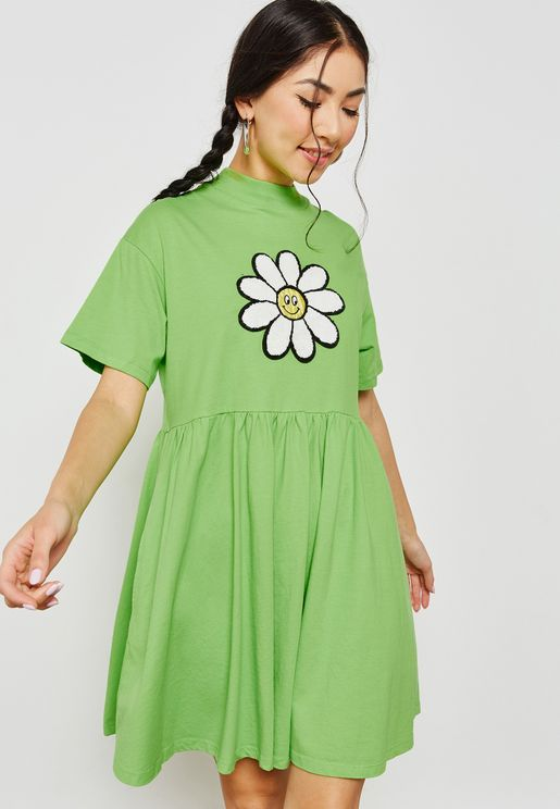 Daisy Smock Dress