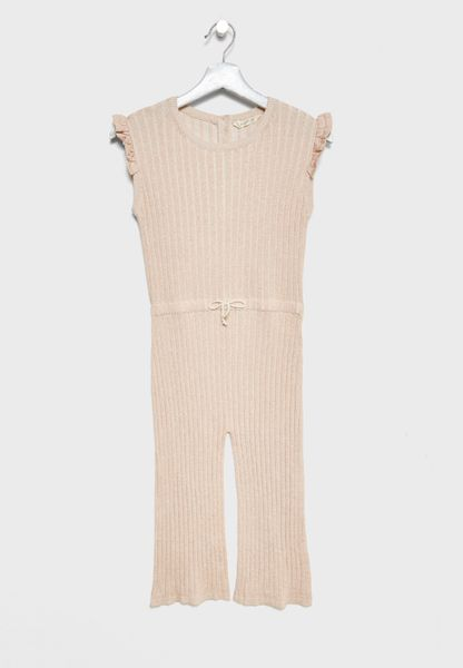 Little Tie Waist Jumpsuit