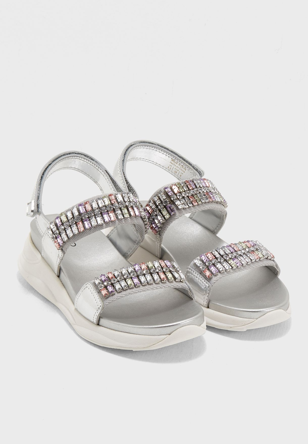bbc20706763 Shop Aldo silver Sandals ELOIMA81 for Women in UAE - AL729SH33WKO