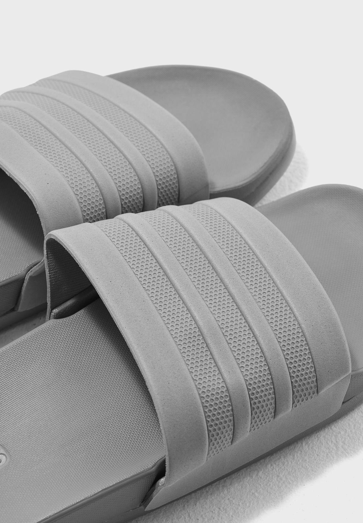 94b1c908981d Shop adidas grey Adilette CF+ Mono Slides S80977 for Men in UAE ...