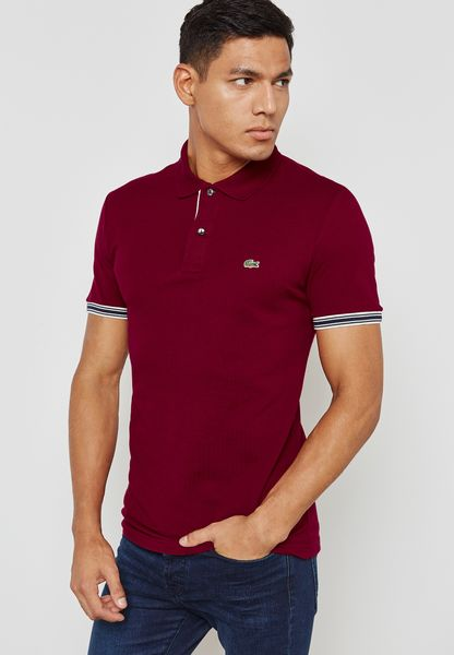 Linen Mix Polo Logo