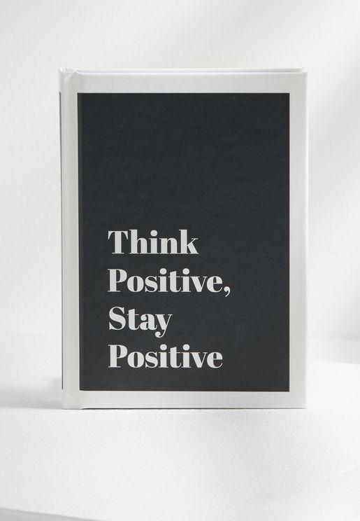 كتاب (فكر بايجابية، ابقى ايجابي)