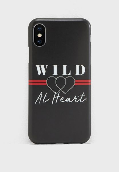 Wild At Heart iPhone X Case