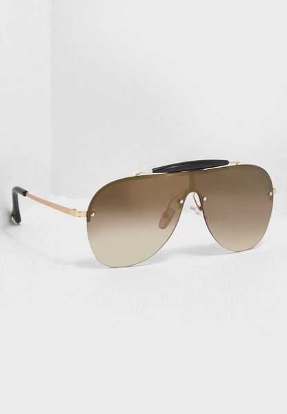 Gradient Oversize Sunglasses