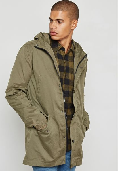 D Korby Hooded Jacket