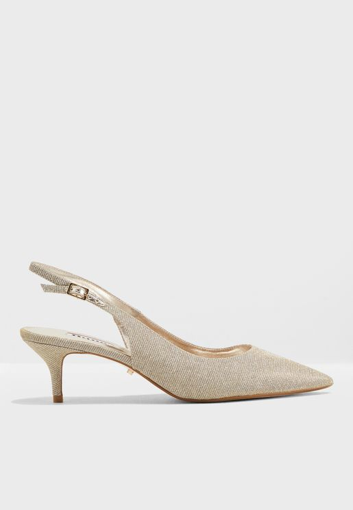 Casandra Sling Back Kitten Court