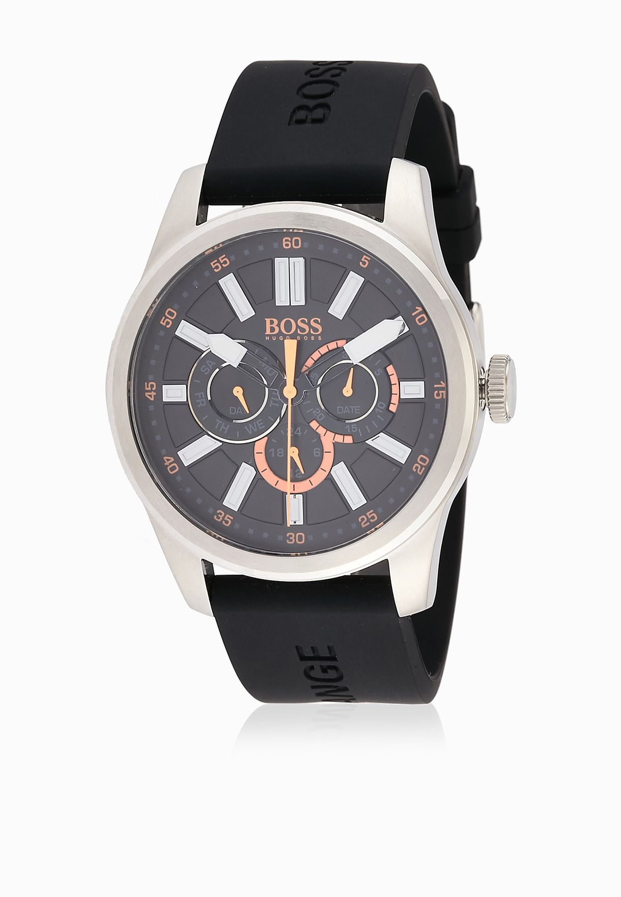 6a00308c8095a2 Shop Hugo Boss black Chronograph Watch 1512933 for Men in UAE ...