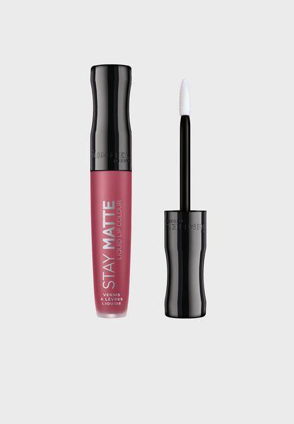 Stay Matte Liquid Lip Colour - Rose & Shine