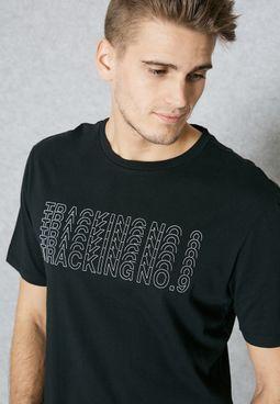 Track Printed T-Shirt