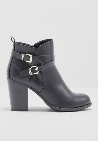 Alfa Buckle Boots