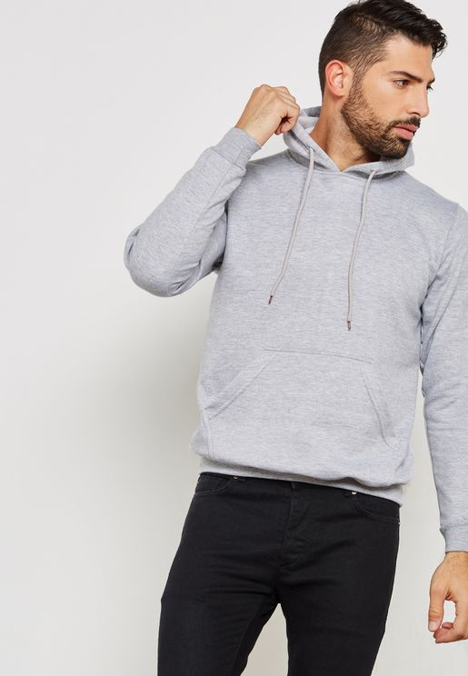 Essential Pull Over Hoodie