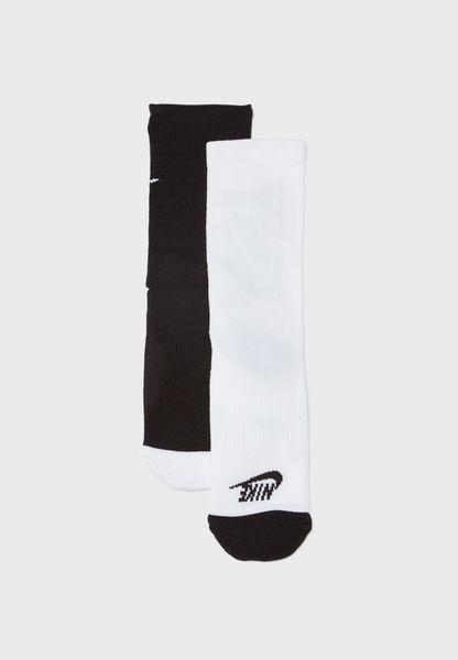 2 Pack Just Do It Socks