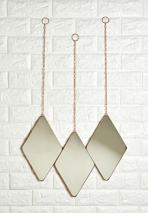 3 Pack Dima Hanging Mirror