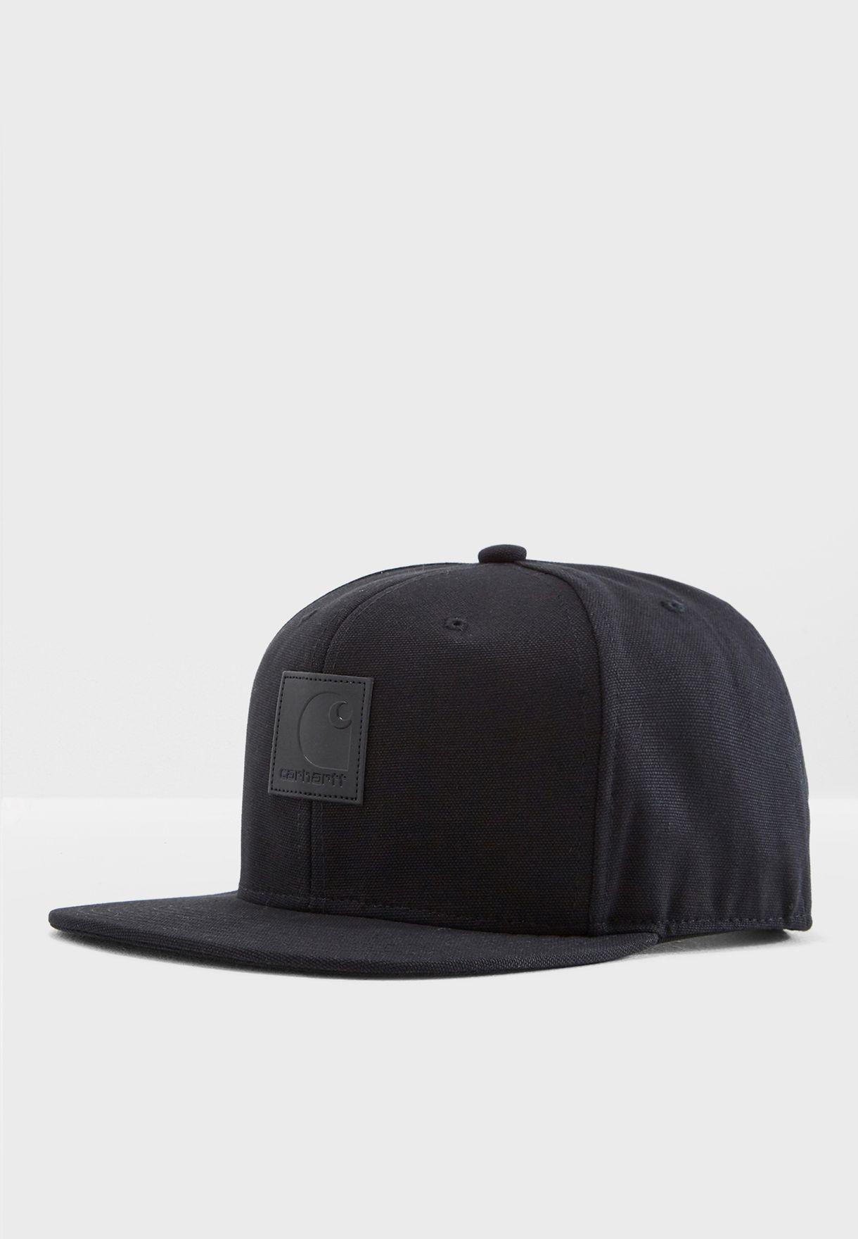 7951b802a89 Shop Carhartt WIP black Logo Cap I023099 for Men in UAE - CA025AC23YXG