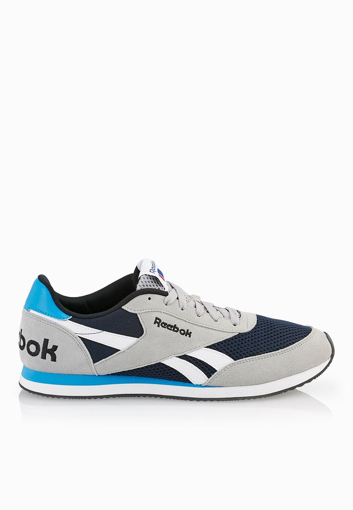 94c5696b2609 Shop Reebok grey Royal Cl Jog 2Rs V69816 for Men in Qatar - RE019SH23SLO