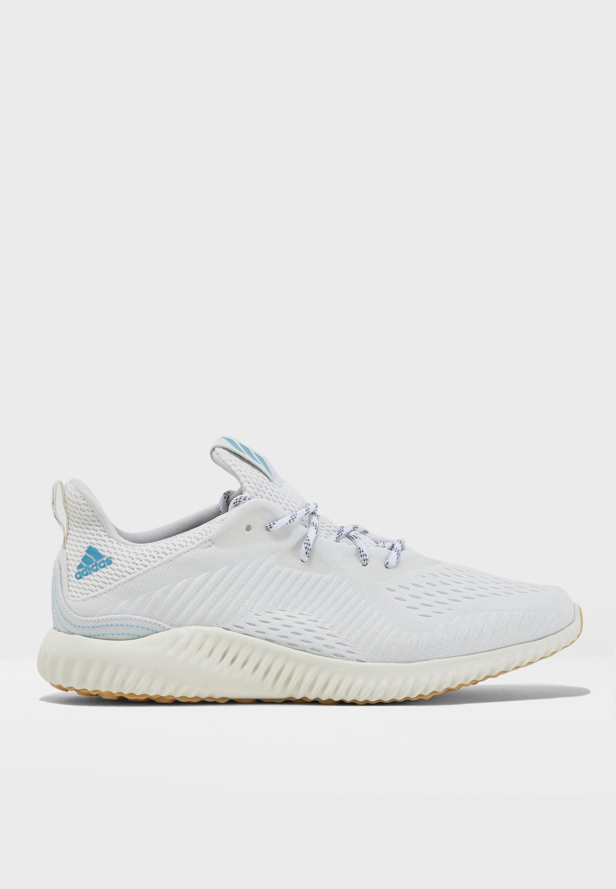 Shop adidas white Alphabounce 1 Parley CQ0784 for Men in UAE ... b0849c73b