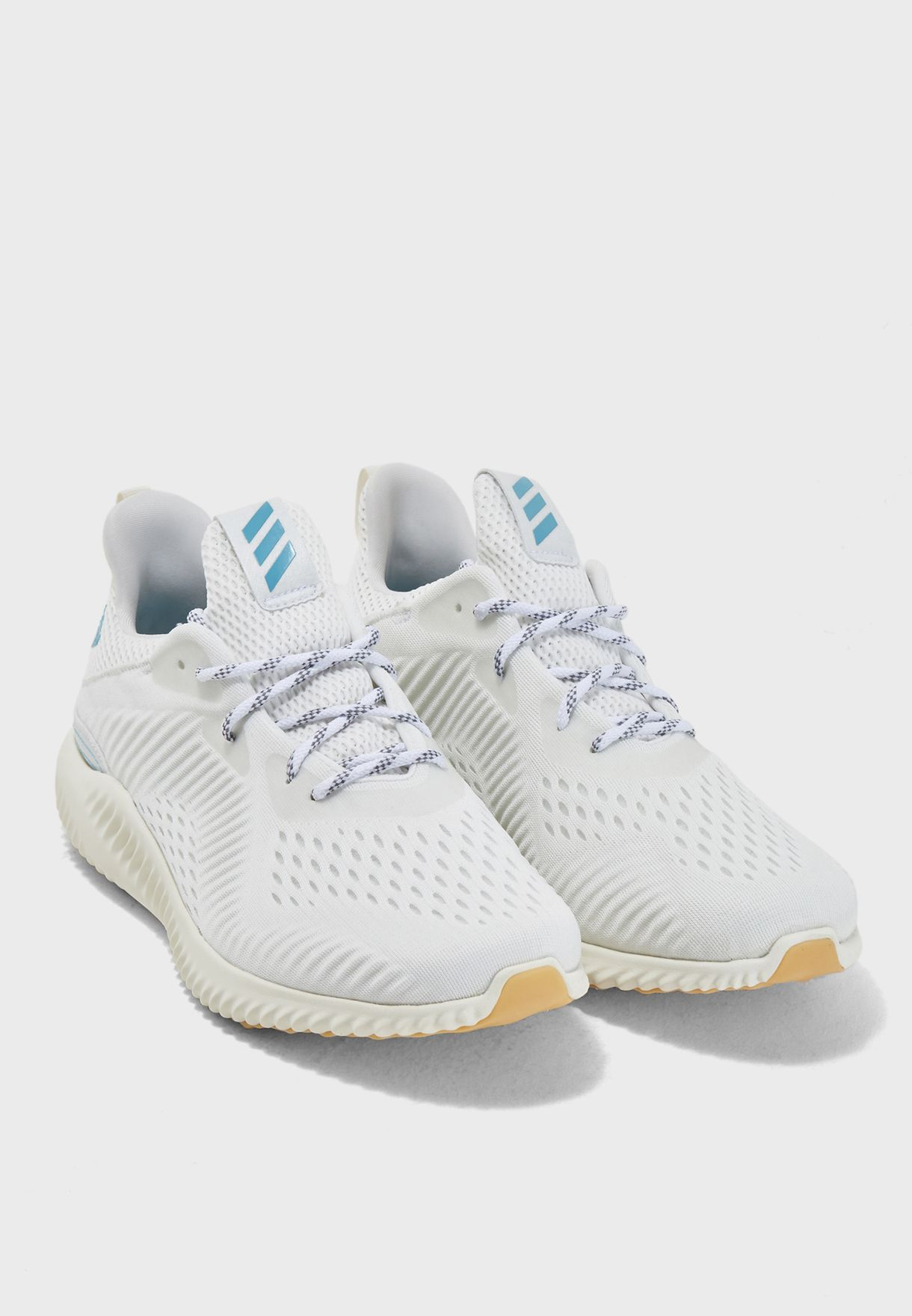 e119acfc964fc Shop adidas white Alphabounce 1 Parley CQ0784 for Men in UAE ...