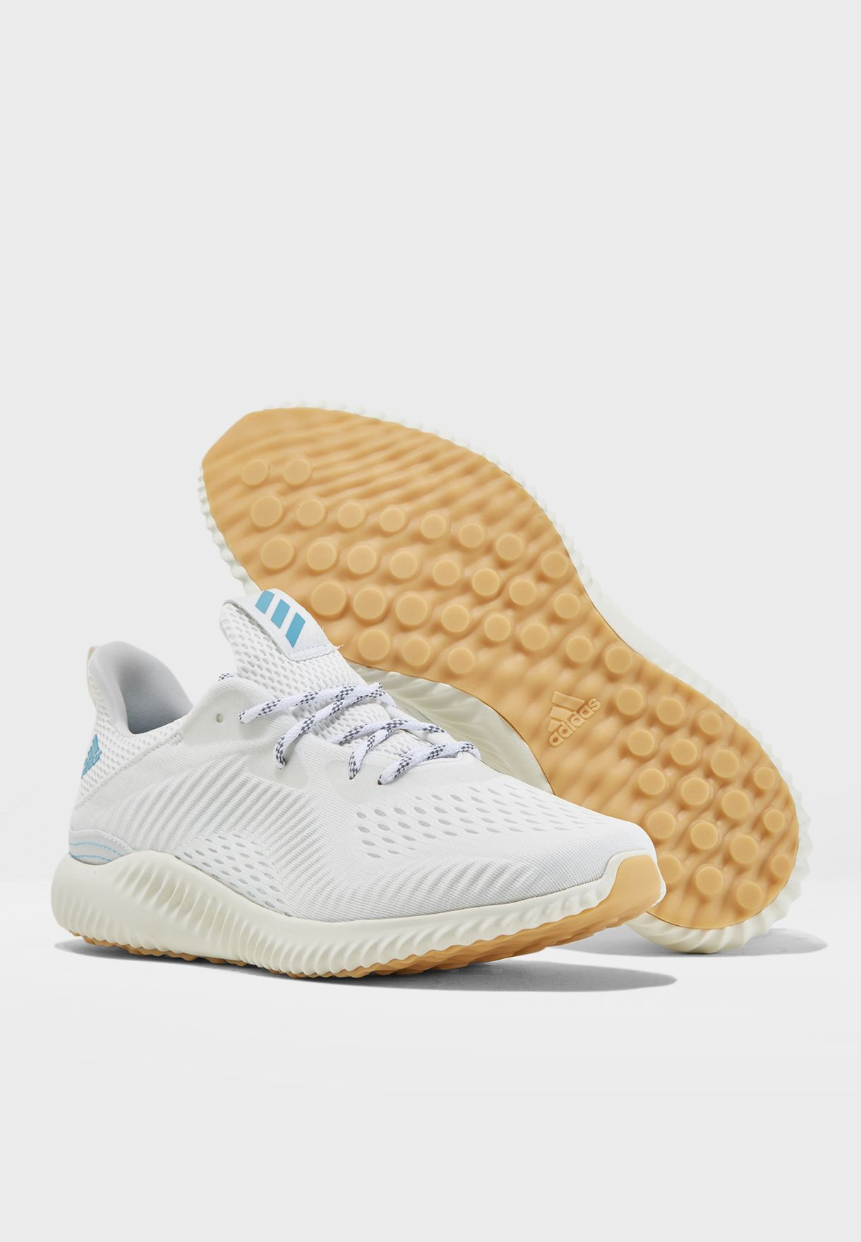 Shop adidas white Alphabounce 1 Parley CQ0784 for Men in UAE ... aebd38f28