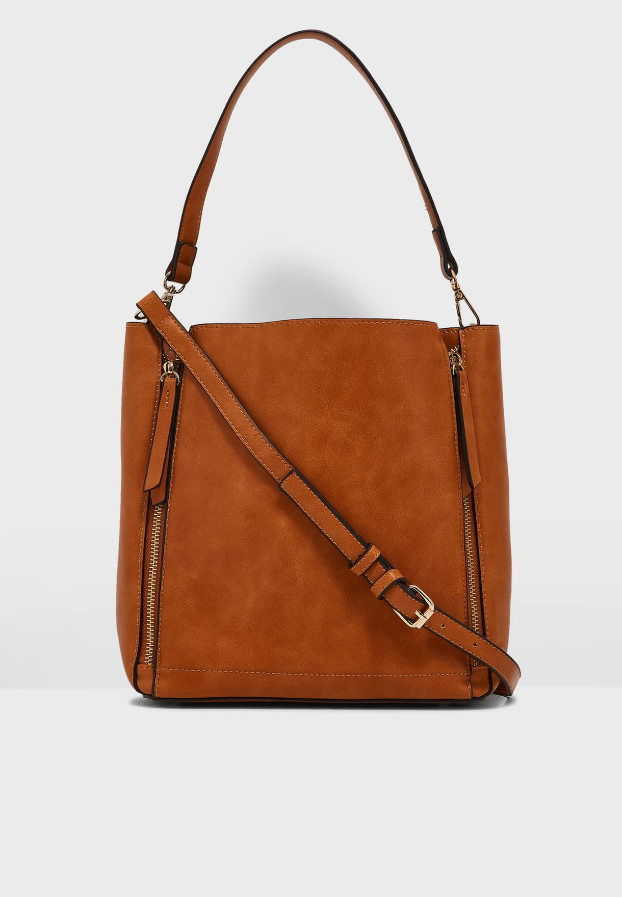 Short And Long Strap Tote