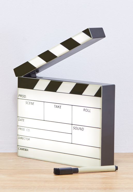 Mini Clapperboard Lightbox