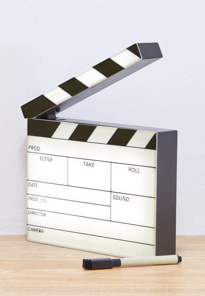 Mini Clapperboard Lightbox