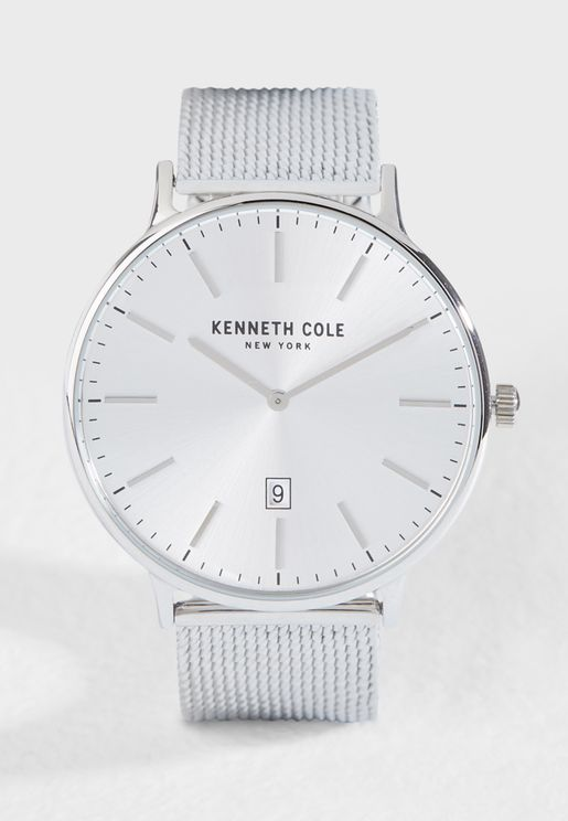 KC15057009 Mesh Round Watch