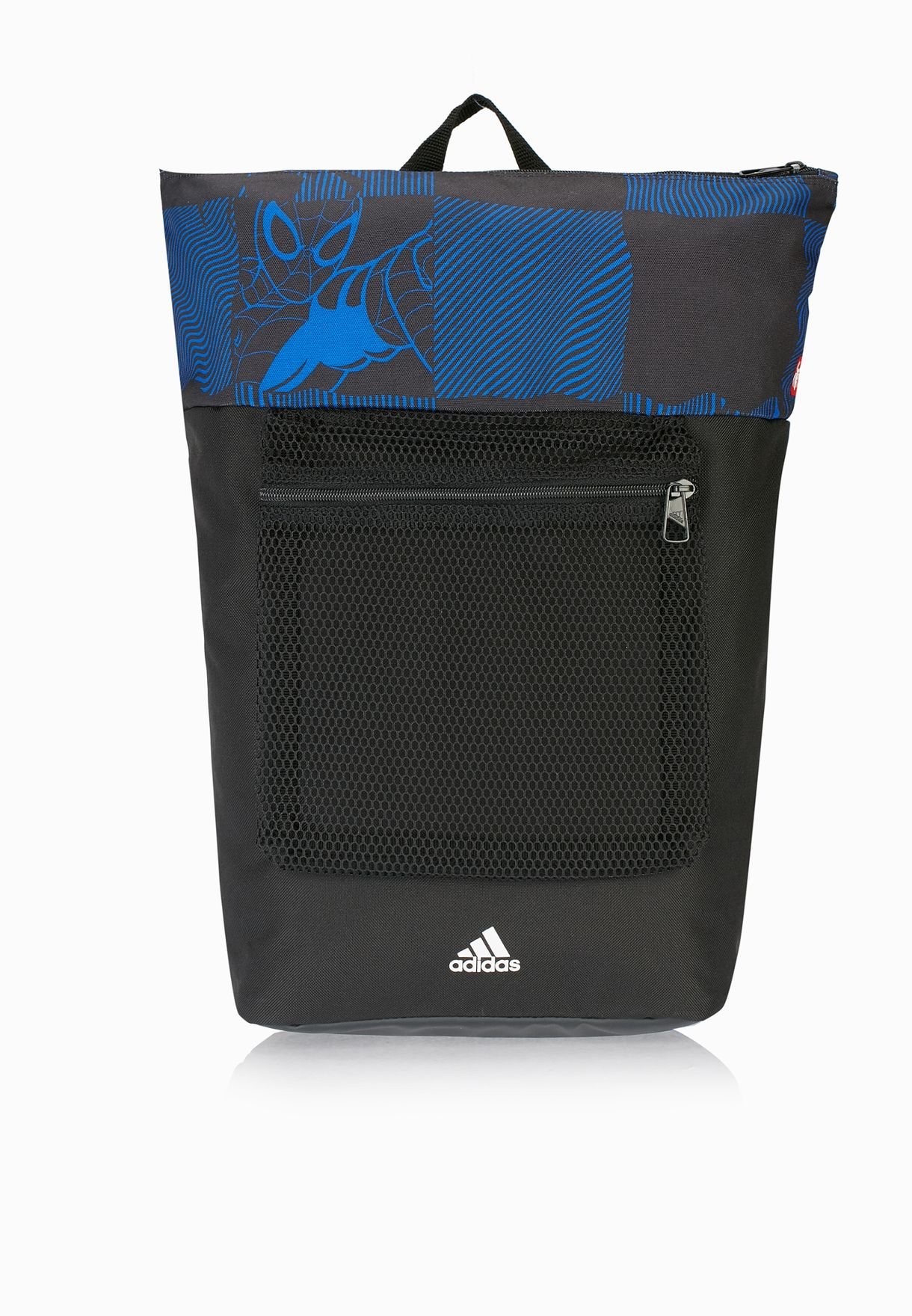 97516a5c8c Shop adidas black Marvel Spiderman Backpack AY6480 for Kids in Qatar ...
