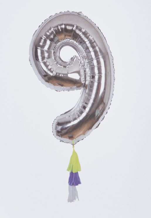 9 Number Fancy Balloon