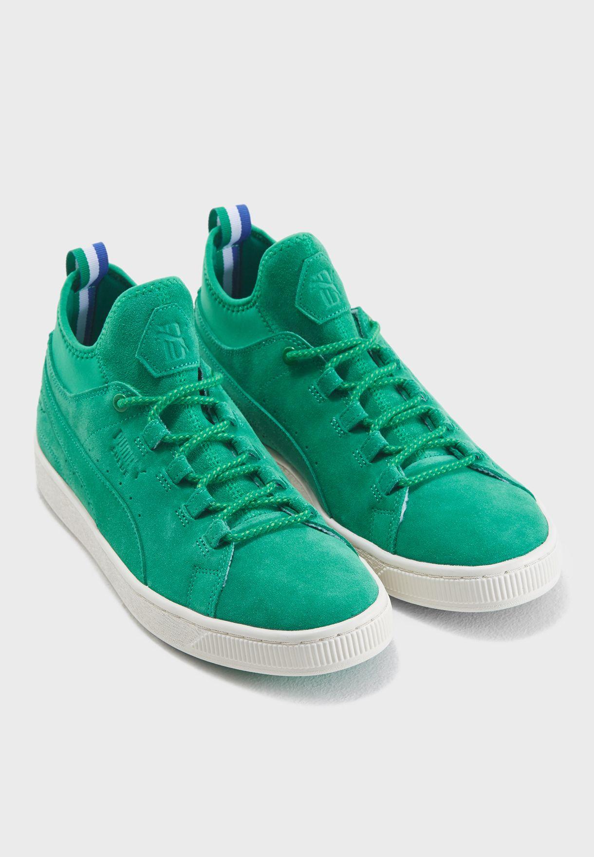 Shop PUMA green Suede Mid Big Sean 36625202 for Men in Kuwait ... 70dda05ec